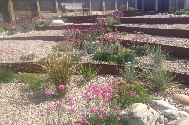 Incroyable Garden Design Brighton; CorTen Steel Garden Brighton; Contemporary Coastal  Design Brighton ...